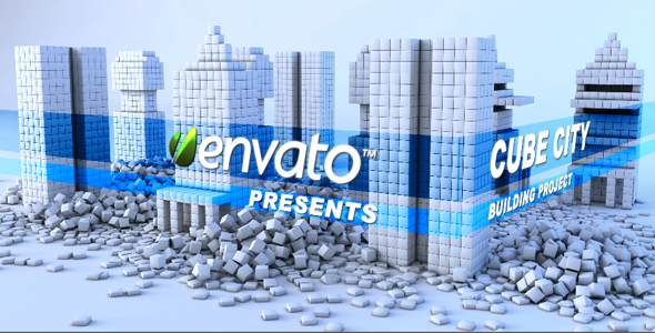 After Effects Project - VideoHive CUBE CITY 149288