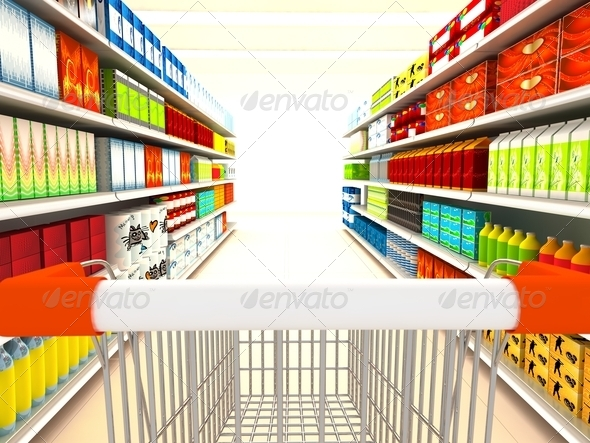 Supermarket - Stock Photo - Images