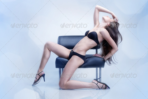 sexy woman in swimsuit - Stock Photo - Images