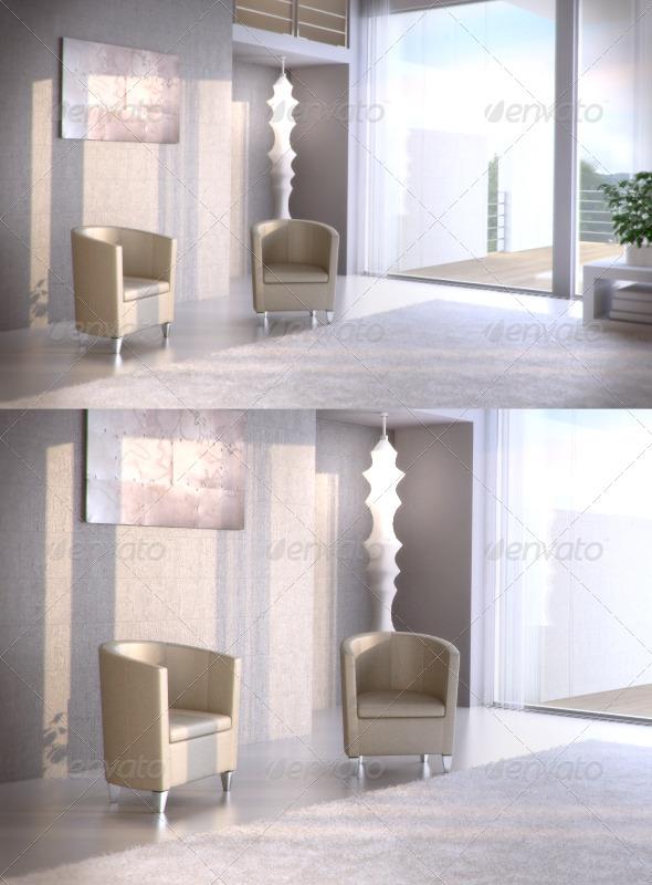 3DOcean Topdeq John Bronco armchair 94508