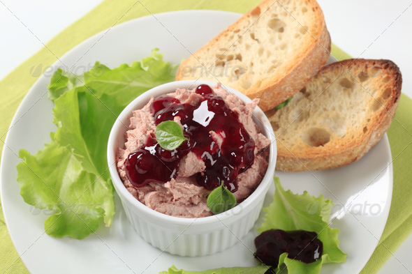 Liver mousse - Stock Photo - Images