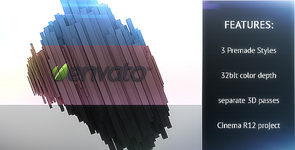 After Effects Project - VideoHive Diagonal logo reveal 3 styles 149870
