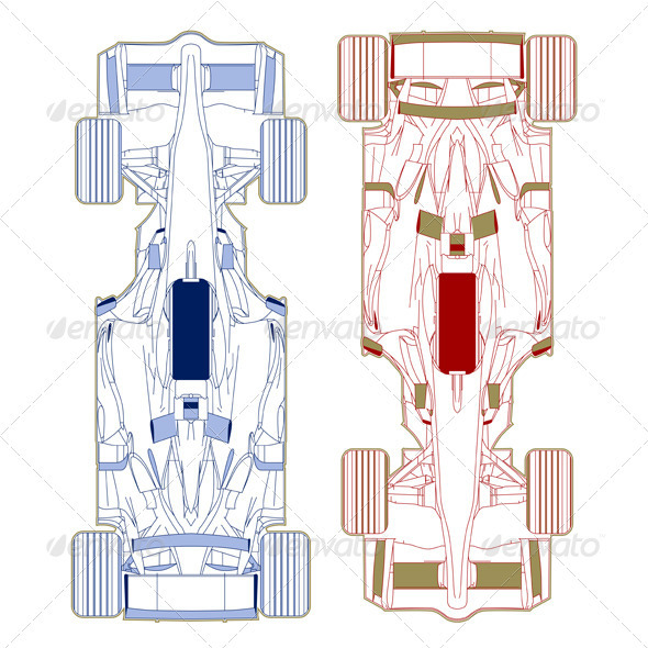 GraphicRiver Sport Race Car Vehicle Sketch 1235506