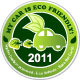 Eco Car Stickers - GraphicRiver Item for Sale