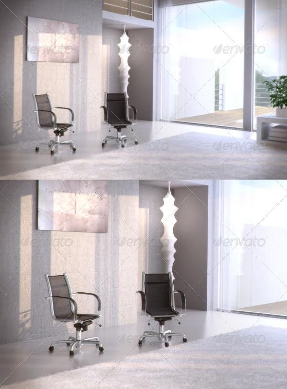 3DOcean Topdeq Spirit Hera Execute armchair 97084