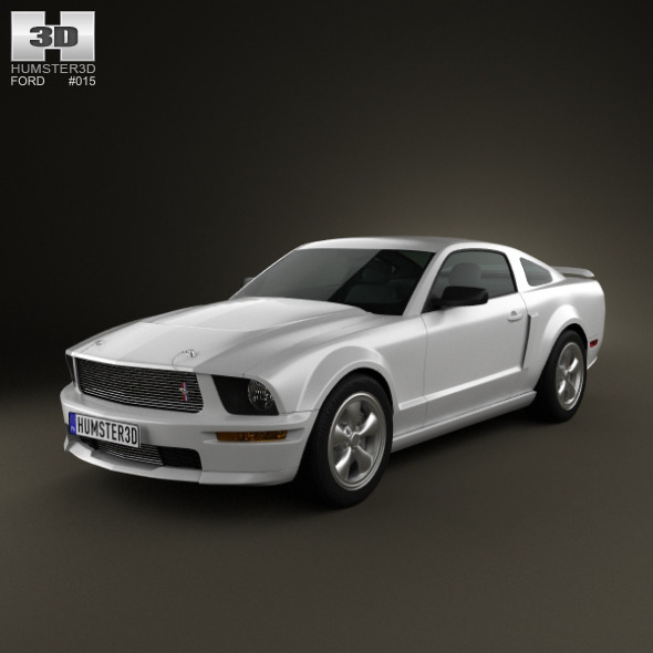 3DOcean Ford Mustang Shelby GT-H 2006 1242537