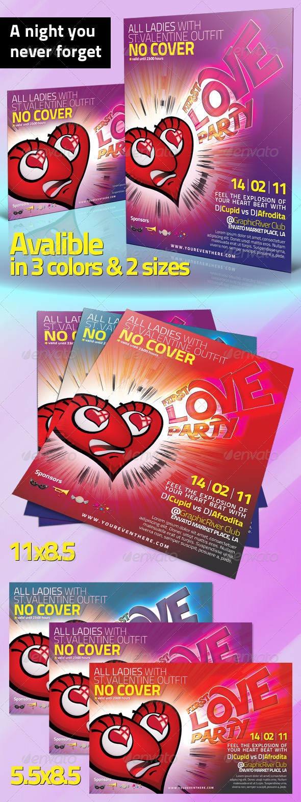 GraphicRiver First Love Party 150803