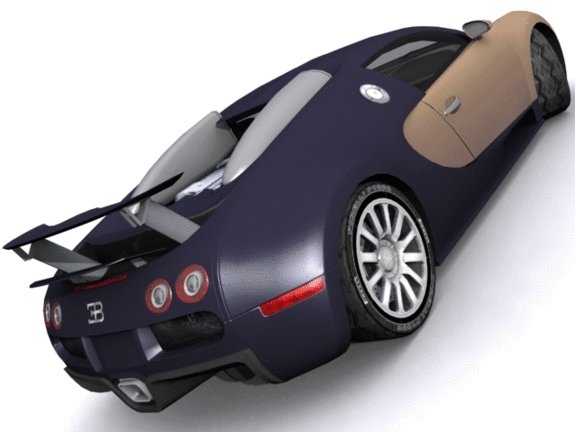 3DOcean Bugatti EB 164 Veyron 1246050
