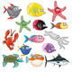 Family of Funny Fish - GraphicRiver Item for Sale