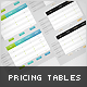 Pricing Tables for Websites (fully CSS based) - CodeCanyon Item for Sale