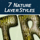 7 Nature Photoshop Styles - GraphicRiver Item for Sale