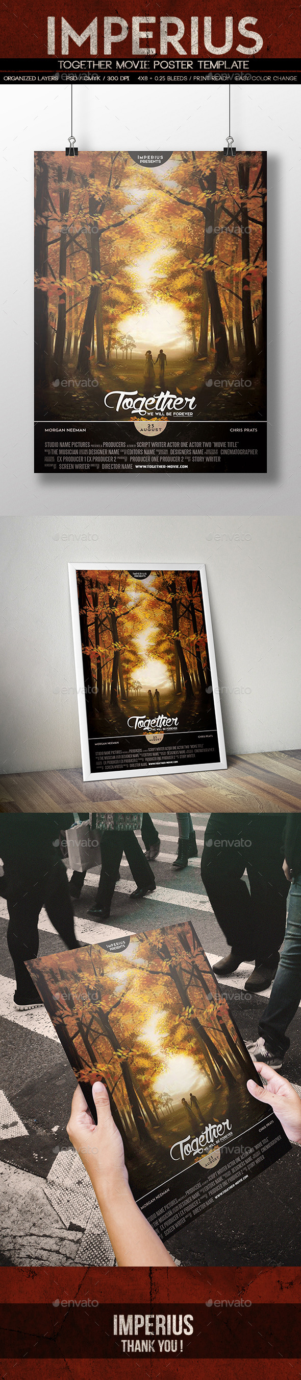 Font used in movie posters