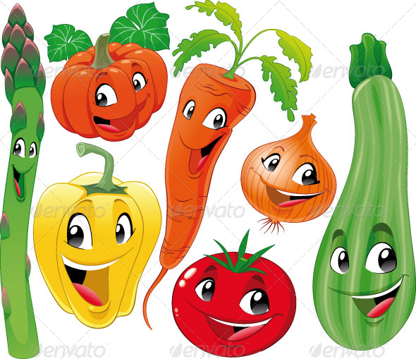 GraphicRiver Vegetable Family 151181