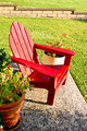 Open Red Chair - PhotoDune Item for Sale