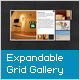 AS3 XML Expandable Flash Grid Gallery - ActiveDen Item for Sale