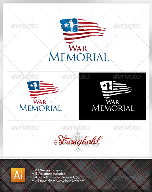 War Memorial Logo - Symbols Logo Templates