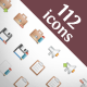 112 Premium Icons #2 - GraphicRiver Item for Sale
