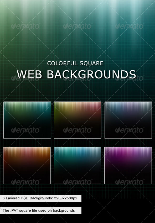GraphicRiver Square Background 151525