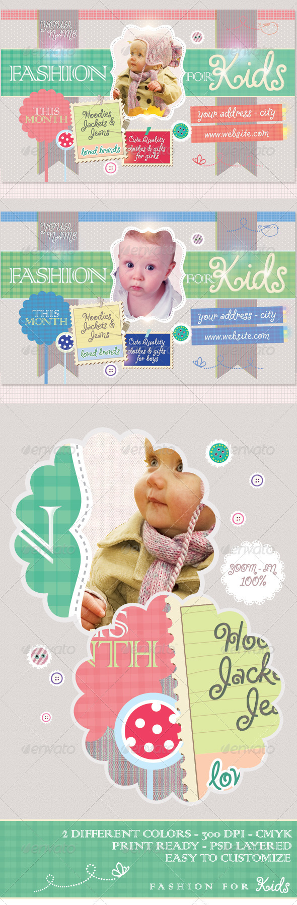 Fashion For Kids Flyer Template - Miscellaneous Events