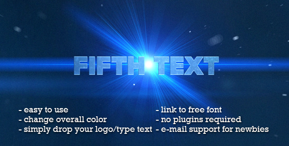 After Effects Project - VideoHive Text Trailer 1254998