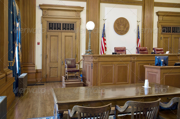 PhotoDune Court of Appeals Courtroom 1256743