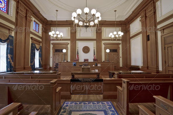 Stock Photo - PhotoDune Historic Building Courtroom 3 1256737