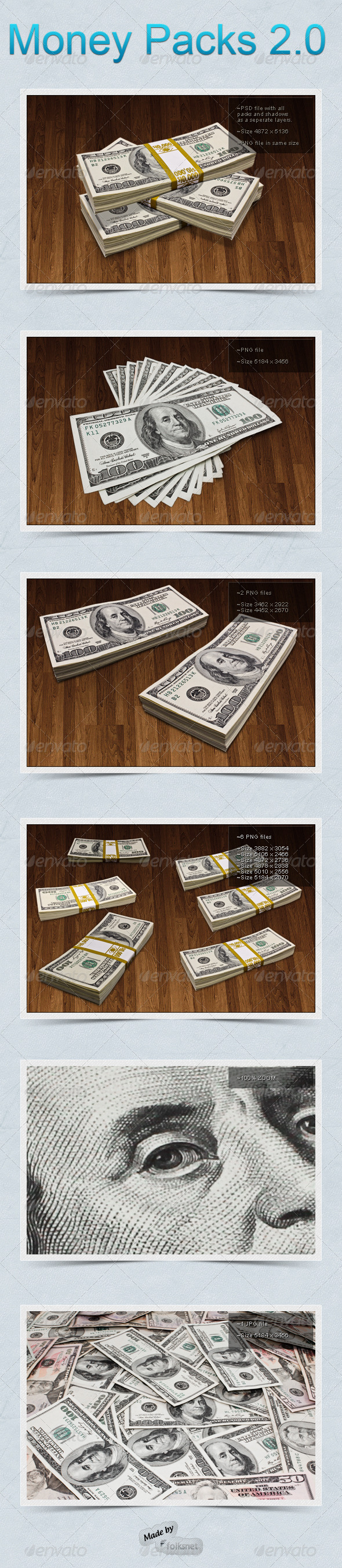 GraphicRiver Money Packs 2.0 1258280