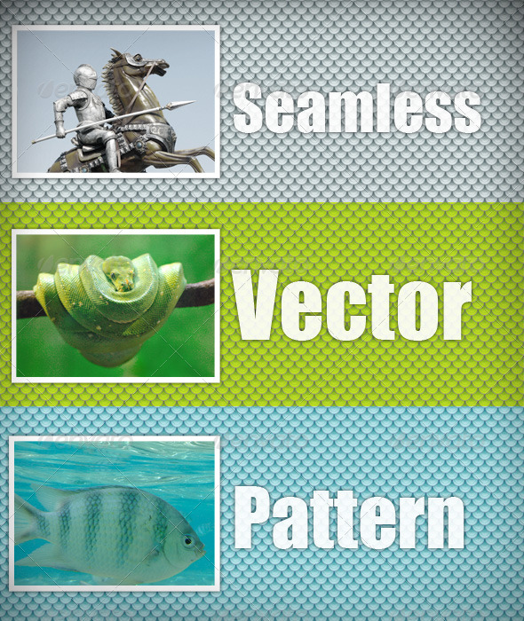 GraphicRiver Scales vector pattern 152127