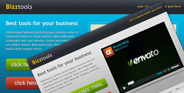 ThemeForest Bizztools Business Landing Page 149661