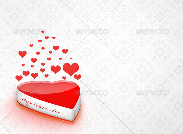 Valentine day background - Stock Photo - Images