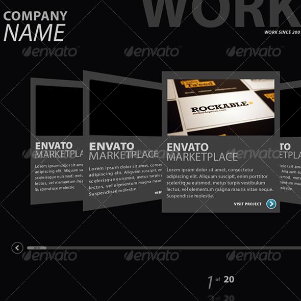 GraphicRiver Web Portfolio Display V2 50154