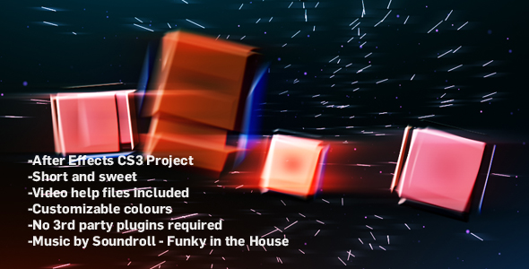 [VideoHive 152591] Funky Shape Titles | After Effects Project