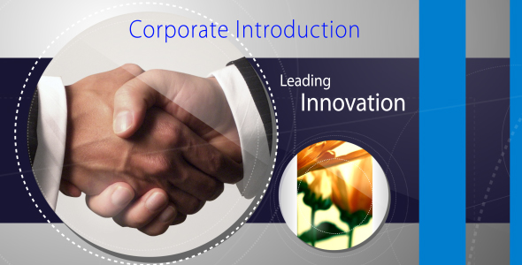 After Effects Project - VideoHive Corporate Introduction short opener 152624