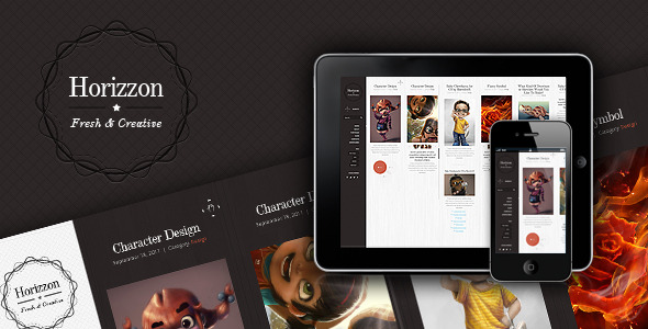 Horrizon - Unique Website Template