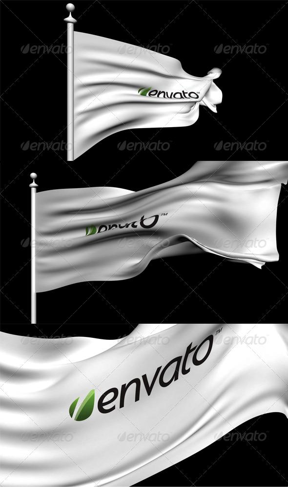 3DOcean 3D Animated Flag 152665