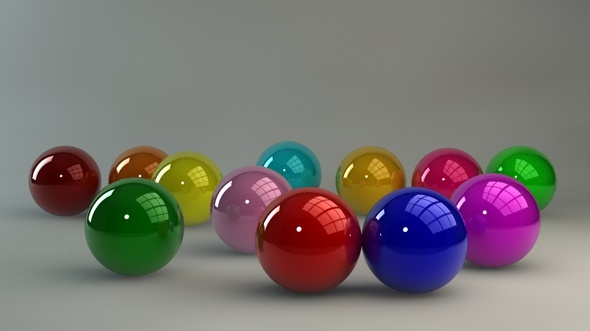 Glossy materials (12 pack) for C4D - 3DOcean Item for Sale