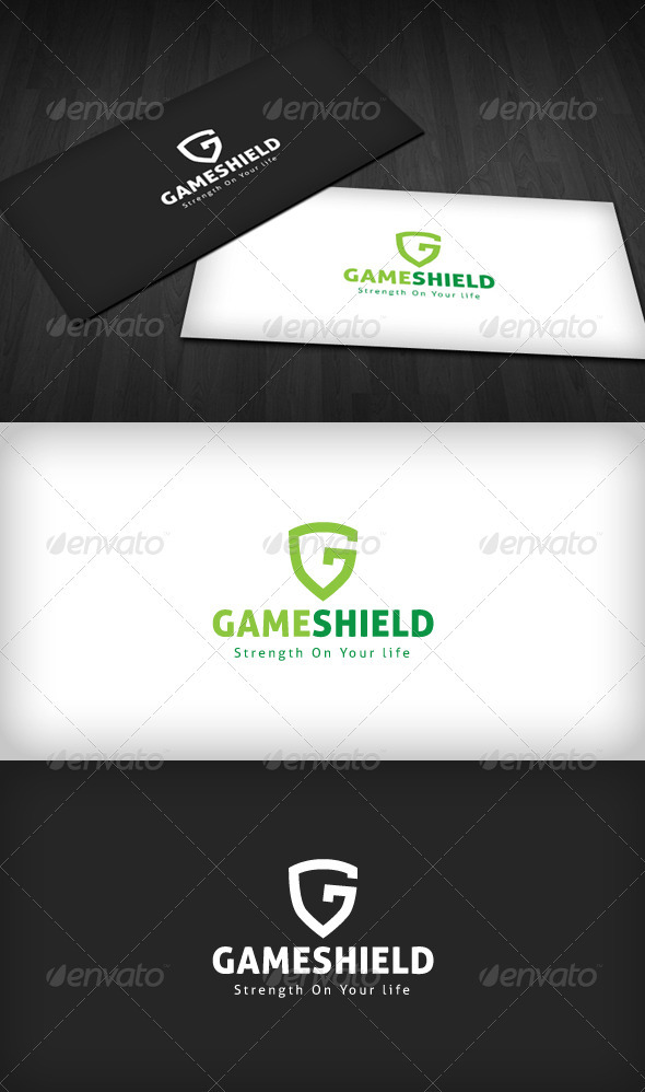Game Shield Logo - Letters Logo Templates