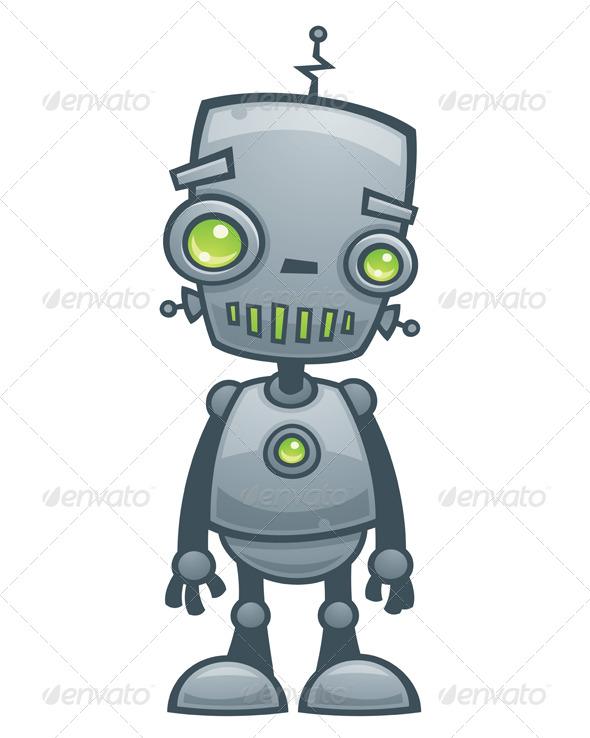 GraphicRiver Happy Robot 153274
