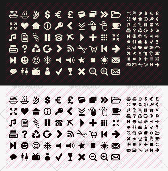 Pack of 60 Icons - Web Icons