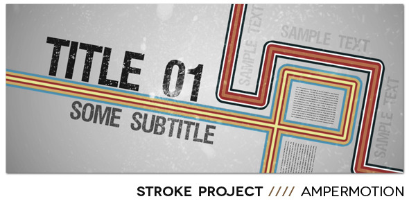 After Effects Project - VideoHive Stroke Project 1275416