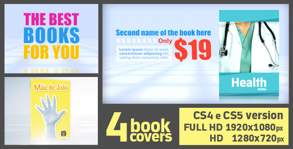After Effects Project - VideoHive Release Books 3D 1195126