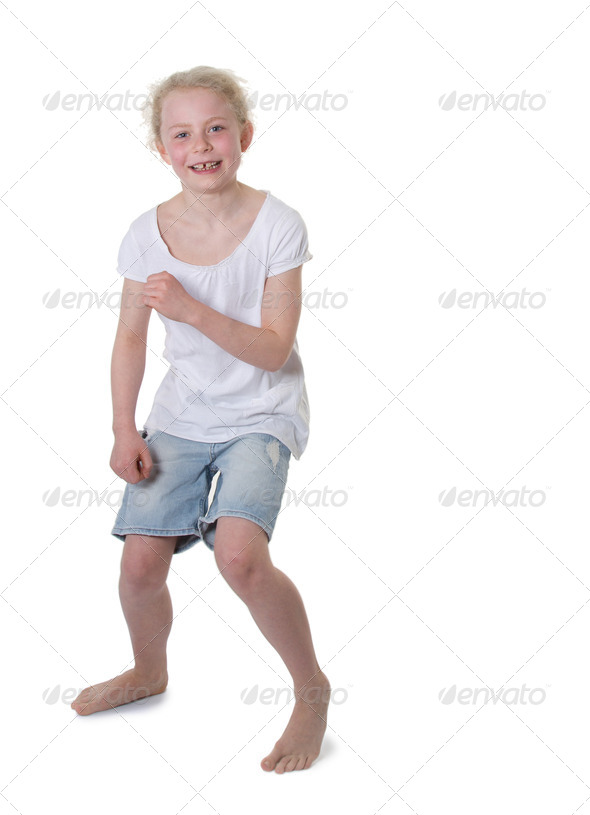 Girl dancing - Stock Photo - Images