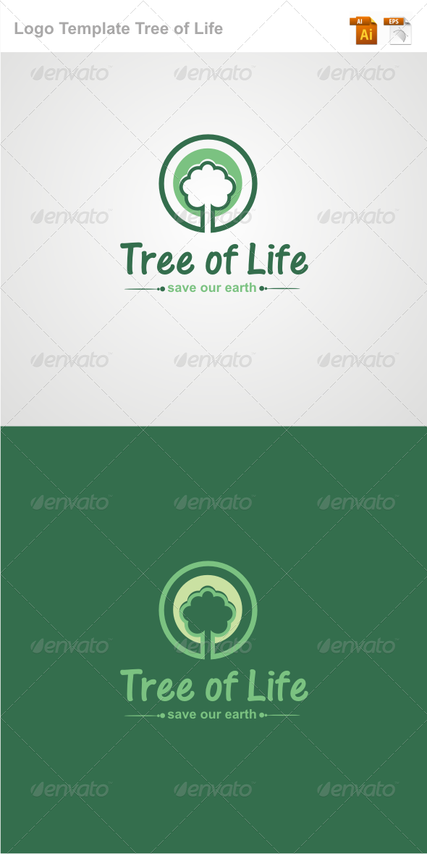 Tree of life logo template graphicriver for Envato graphicriver
