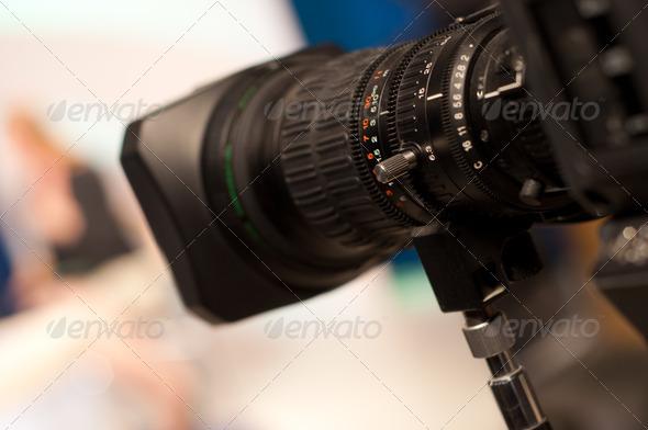 PhotoDune digital video camera lens 1280648