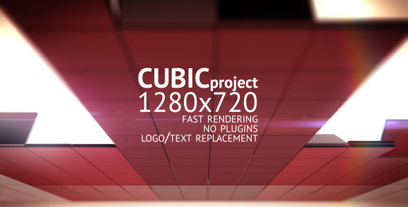 After Effects Project - VideoHive Cubic 1278635