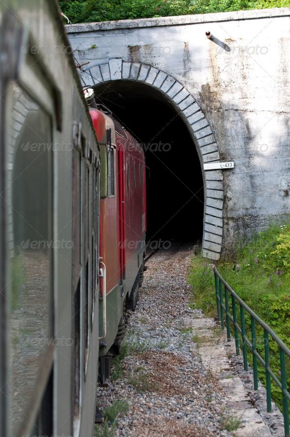 The train - Stock Photo - Images