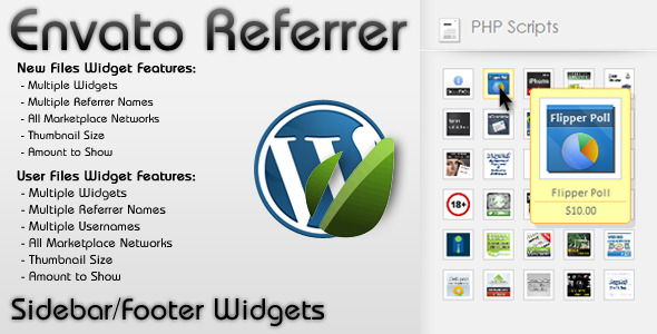 WP Envato Referrer - CodeCanyon Item for Sale