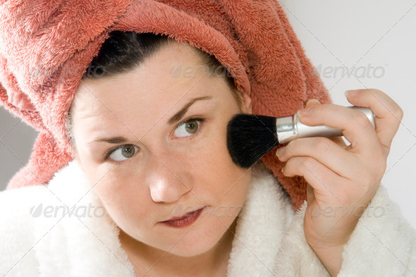 Makeup series 6 - Stock Photo - Images