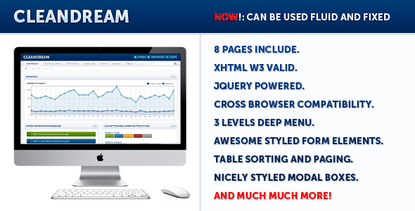 ThemeForest CleanDream 490140