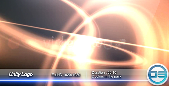 After Effects Project - VideoHive Unity Logo 82119